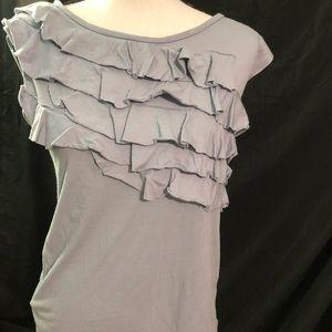 Loft shirt gray size medium in vguc